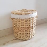 Keranjang Baju Laundry Rotan (JNE/REX)