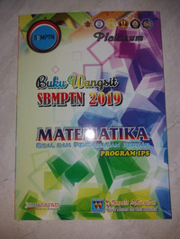 Buku Wangsit SBMPTN 2019 Matematika Platinum