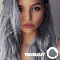 TONI & GUY 0.11 ASH abu-abu gray grey hair color cream cat rambut