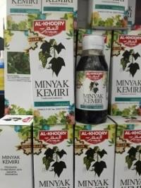 Minyak Kemiri Al Khodry Penumbuh Rambut Original 100%