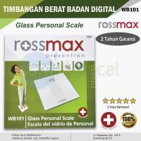 ROSSMAX WB101 Timbangan Badan Digital SLIM GARANSI