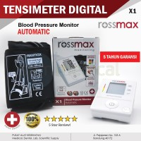 ROSSMAX X1 Tensimeter Digital Tekanan Darah GARANSI 5 thn