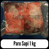 Paru Sapi / Daging Sapi Bagian Paru / Beef Lung Impor Mentah Bandi
