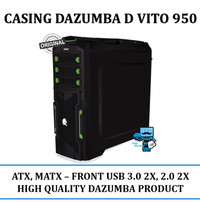 Dazumba Casing CPU PC D-VITO950 D-VITO 950 Casing Tanpa Power Supply