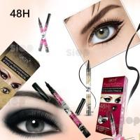 QICIY 48H Black Long-lasting Waterproof Liquid Eyeliner