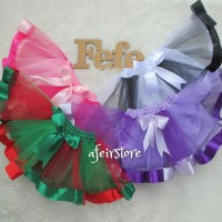 Rok Tutu Pita Curly Mix Anak 2-3y