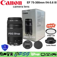 LENSA CANON EF 75-300mm F4.0-5.6 IS III - CANON EF S 75-300mm Promo