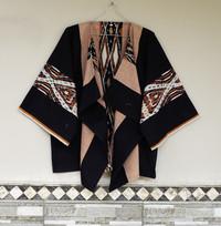 Kimono outwear tenun ethnic / blazer tenun/ outer batik/ baju kantor