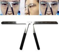 Penggaris Cetakan Alis Eyebrow Balance Ruler Measure Shaping Tool