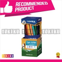 36 Pcs LONG ORIGINAL Pencil Colour Lyra Super Ferby Lacquered