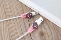 HT004 Pelindung Ujung Kabel Charger Hp Cable Charging Protector (2Pcs)