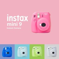 [LIMITED PROMO] Fujifilm Instax Kamera Polaroid Mini 9 / 9s RESMI