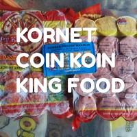 Kornet COIN King food KOIN. Sumber frozen makmur