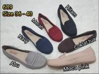 jelly shoes bara bara sepatu wanita flat shoes barabara 689