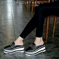 sepatu wedges wanita sw018 hitam
