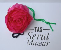 Souvenir Pernikahan Tas Serut Mawar
