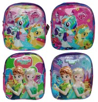 Tas Sekolah Tas Anak Paud Tas Anak TK Little Pony-Frozen Tabung TAS45