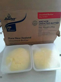 Butter Anchor unsalted repack kemasan box plastik 948gram