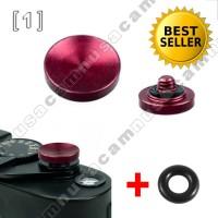 Soft Shutter Release Button, Tombol Shuter Kamera (Cekung Merah)