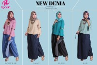 ROCELLA Rok Celana Jeans/Denim (L-XL) Muslimah/Kerja/Kuliah