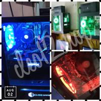 Kipas Casing LED/ Fan Casing LED 12cm (MOD PC/ Komputer)