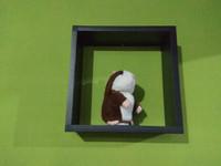 Rak Dinding Minimalis Kotak Ukuran 30x30x10cm