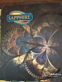 Sarung sapphire Jacquard Lilin Tua Kembang 2 Warna