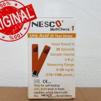 Strip nesco asam urat / urid acid