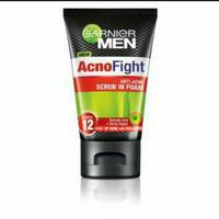 Garnier Men Acno Fight Anti Acne Scrub In Foam 50ml