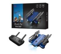 Drone Quadcopter TK 117 Dark Pro Mirip DJI Mavic Pro Syma X5HW Blue