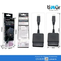 TERBARU - CONVERTER USB 1 SLOT STIK STICK PS2 KE PS3 - PC SINGLE