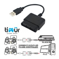 TERLARIS - CONVERTER USB SINGLE STIK STICK PS2 KE PS3-PC