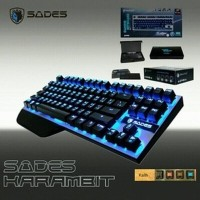 Sades Karambit Gaming Keyboard