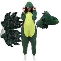 Onesie/Kigurumi Costume Set Cosplay Dinosaur Dinosaurus Pajamas