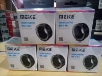 adaptor MeiKe Automatic Electronic Auto Focus AF Canon EF Berkualitas