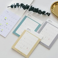 Easy Sticky Monthly Planner / Perencanaan Bulanan