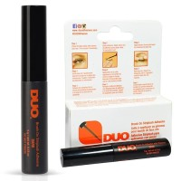 DUO BRUSH ON Striplash Adhesive Eyelash Glue DARK Original