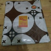 sprei batik single kawung besar