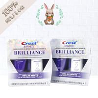 Crest 3D White Brilliance Toothpaste & Whitening Gel Pemutih Gigi USA