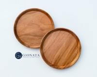 Wooden Plate / Piring Kayu
