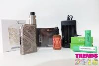 TERMURAH paket siap ngebul mod Tesla steampunk nano 120w with RDA