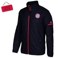 Jaket Bola Parasut Bayern Munchen Anti Air & Angin Nyaman di pakai