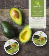 Lulur Bali Ratih Body Scrubs - Avocado- Produk Kecantikan Kulit