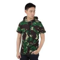 Kaos Hoodie Pria Army Tentara Loreng Camouflage