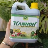 Pupuk Cair Organik Kannon 1 Liter menyuburkan dan pertumbuhan tanaman