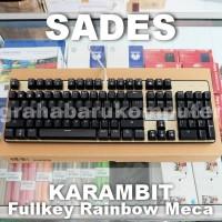 Sades Karambit Full Key RGB Mechanical Gaming Keyboard Promo