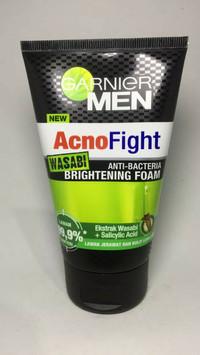Garnier Men Achno Fight Wasabi Brightening Foam 100 ml