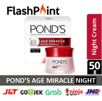 PONDS AGE MIRACLE NIGHT CREAM 50G ORIGINAL POND'S 50 G