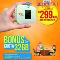 Modem BOLT Aquila slim, new,segel - Perdana 32GB