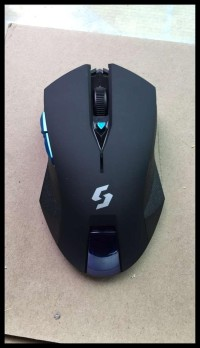 Mouse Wireless Gaming Nc-600 Black Edition